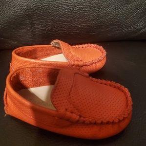 Elephantito orange shoes size 4